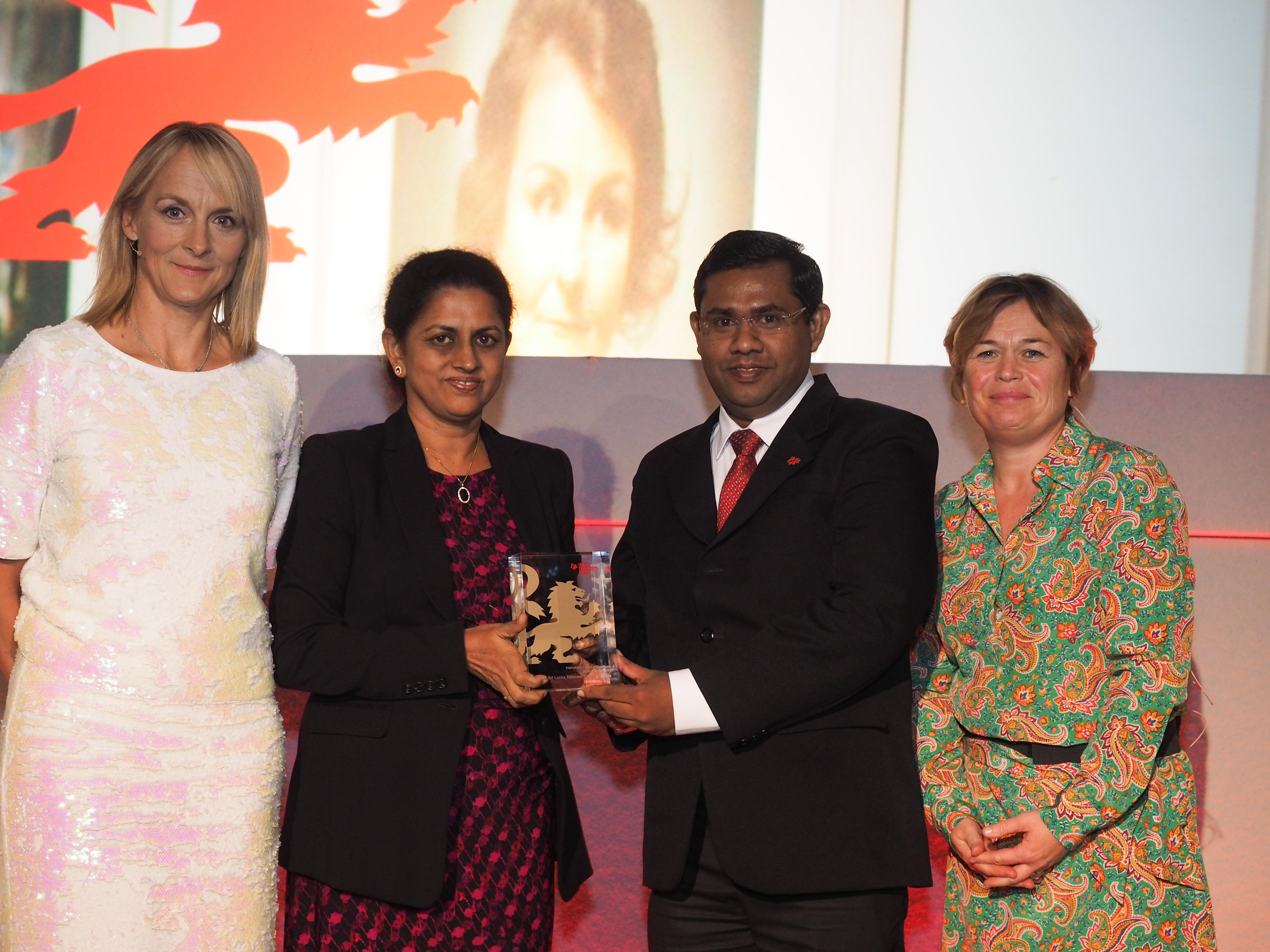 Sri Lanka South Asia  COE award winners