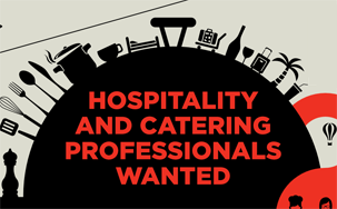 Hospitality and Catering Infographic