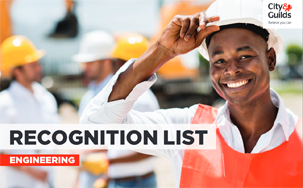 City & Guilds Engineering Recognition list