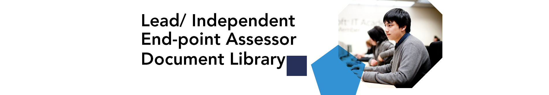 lead independent end-point assessor document library banner