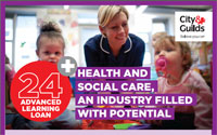 Health and social care, an industry filled with potential.