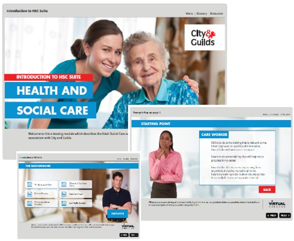 Adult social care e-learning