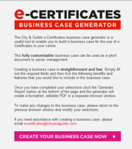 Business Case generator